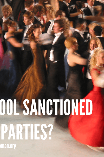 Is the Prom basically a School Sanctioned Sex Party? @ AVirtuousWoman.org