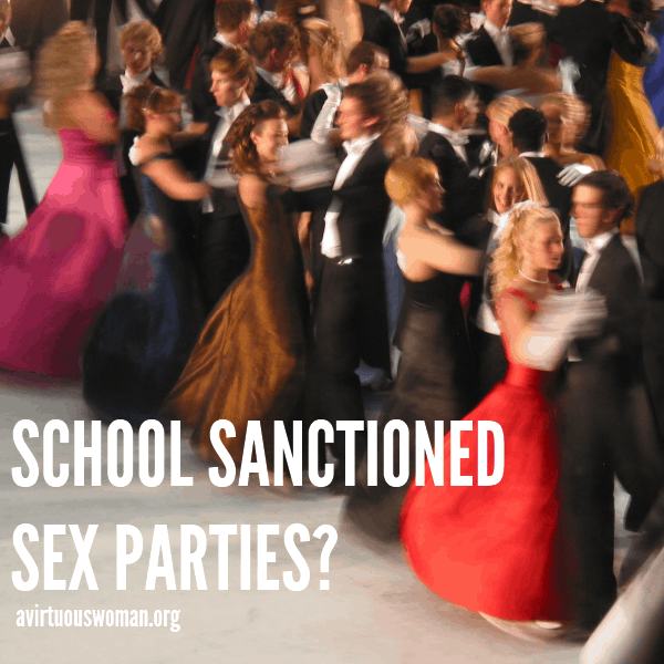 School Sanctioned Sex Parties?