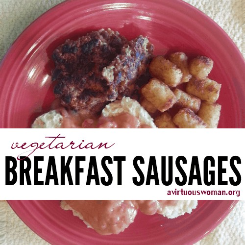 Vegetarian Sausage Patties
