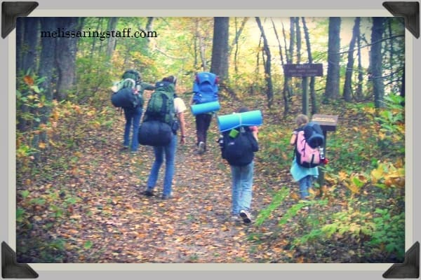 4 Day, All Girl Backpacking Trip | A Virtuous Woman