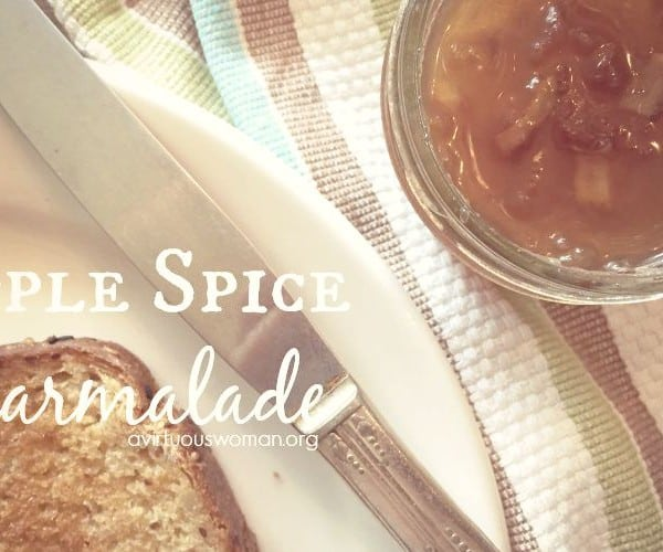 Apple Spice Marmalade