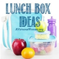 Lunch Box Ideas | A Virtuous Woman