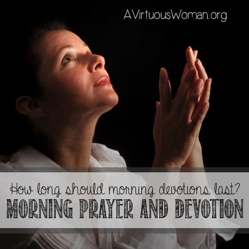 Q & A: Length of Morning Devotion