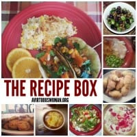 The Recipe Box @ AVirtuousWoman.org
