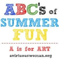 ABC's of Summer Fun @ A Virtuous Woman