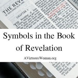 What Do the Symbols in the Book of Revelation Mean? Find out the meaning for 88 symbols today on AVirtuousWoman.org #BibleStudy
