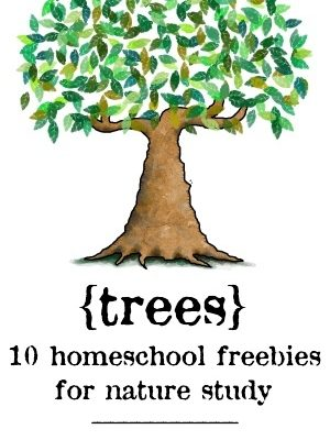 Homeschool Freebies – {Trees}