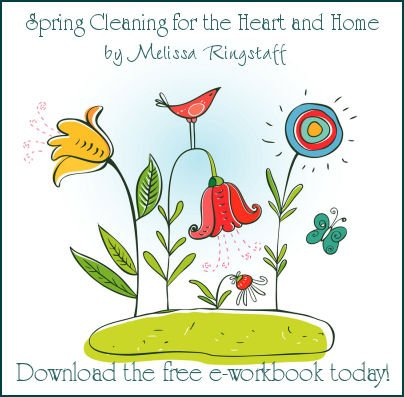 Spring Cleaning for the Heart and Home by Melissa Ringstaff {Join the Annual Challenge} | A Virtuous Woman