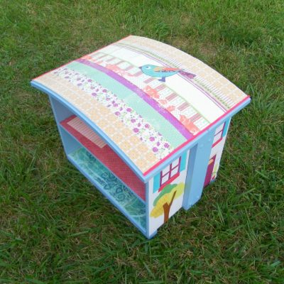 Make a Dollhouse… Out of a Drawer