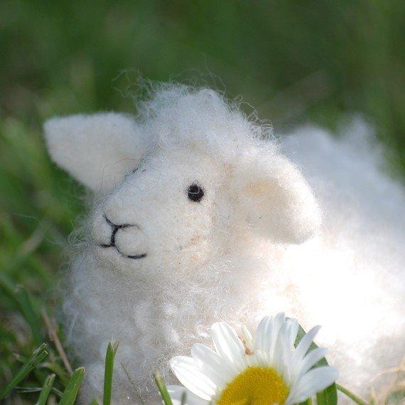 Needle Felted Sheep Kit