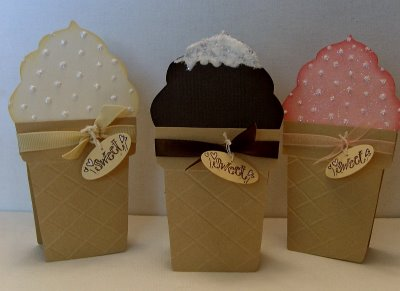 Ice Cream Cone Cards