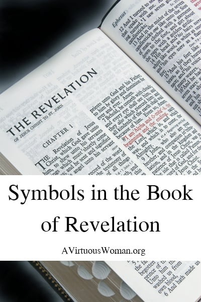 What do the symbols mean in the Book of Revelaiton?