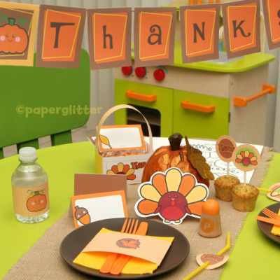 Thanksgiving Dinner Printables