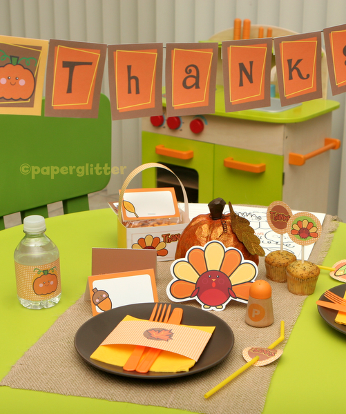 Free Thanksgiving Table Decoration Ideas Photograph Fo
