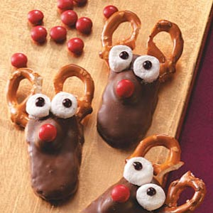 Reindeer Cookie Treats