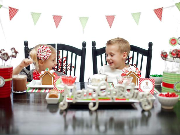 Host a Gingerbread Party for Kids