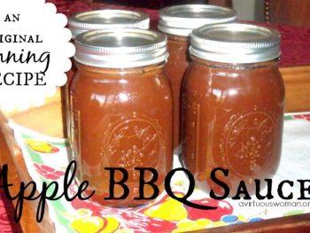 Apple BBQ Sauce @ AVirtuousWoman.org