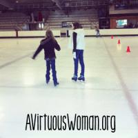 Ice Skating for Homeschool @ AVirtuousWoman.org