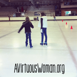 Ice Skating for Homeschool @ AVirtuousWoman.org