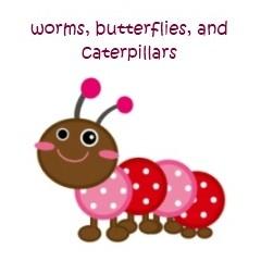 Homeschool Freebies: Worms, Butterflies, and Caterpillars @ AVirtuousWoman.org #homeschool