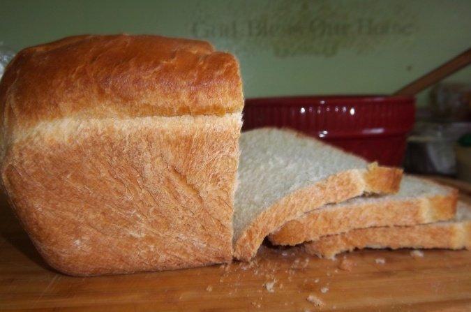 Rosebud's Butter Topped White Bread