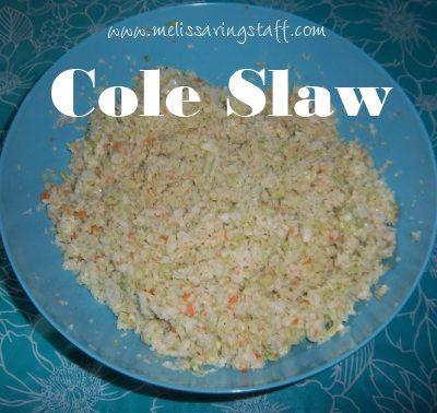 Melissa's Coleslaw
