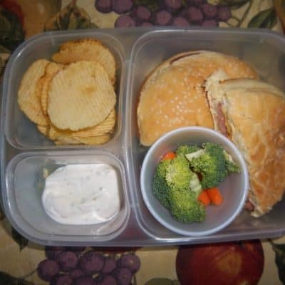Back to Homeschool Lunches and Menu Plan