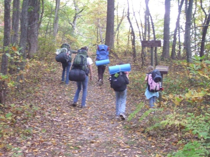 4 Day, 24 Miles, All Girl Backpacking Trip in the Wilderness of the Cumberland Mountains @ AVirtuousWoman.org