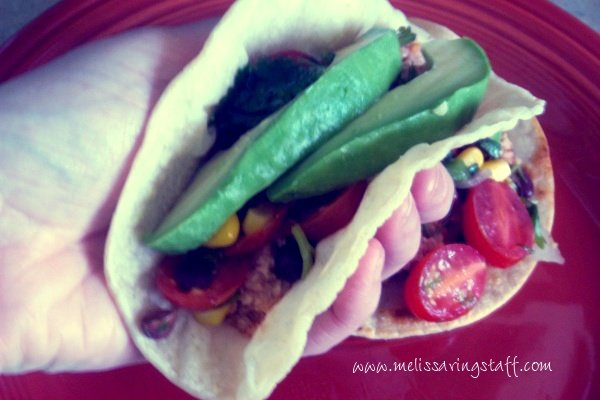 Melissa's Mostly Raw Tacos