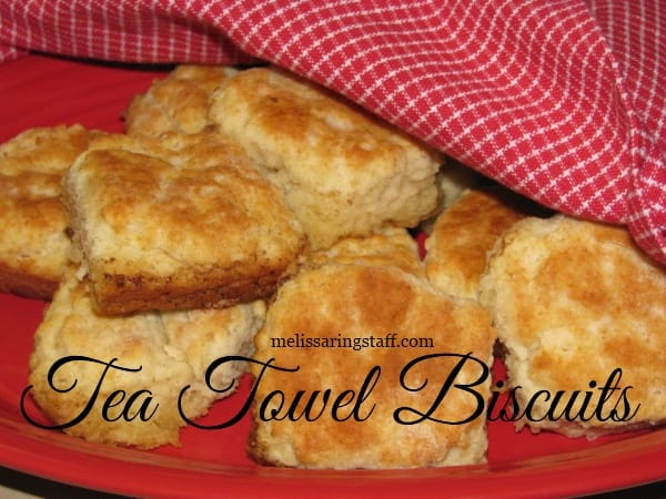 Learn how to make these homemade Tea Towel Biscuits @ A Virtuous Woman -------- So easy and quick to clean up!