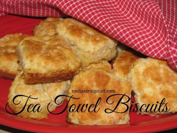 Tea Towel Biscuits