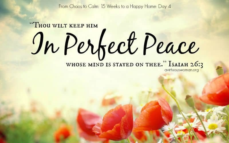 In Perfect Peace {Day 4}