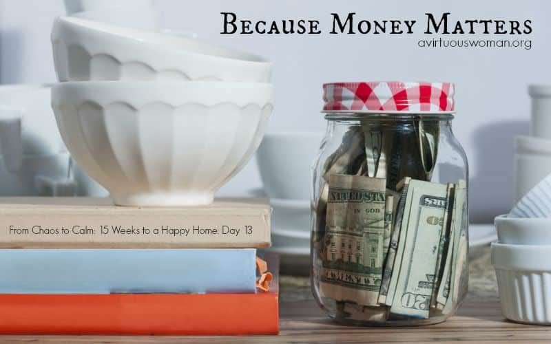 Money Matters {Day 13}