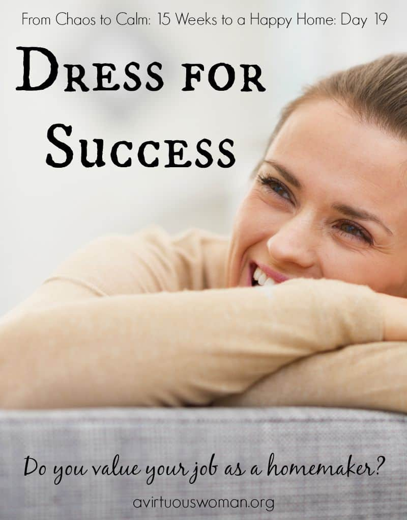 Dress for Success @ AVirtuousWoman.org