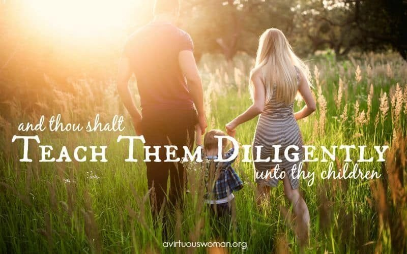 Teach Them Diligently {Day 21}