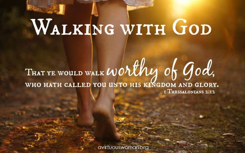 Walking with God {Day 16}