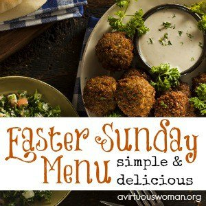 Easter Sunday Menu Ideas