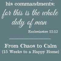 How to Walk in Obedience to Christ {From Chaos to Calm} | A Virtuous Woman