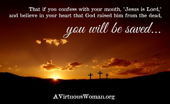 Rest {Romans 10:9}