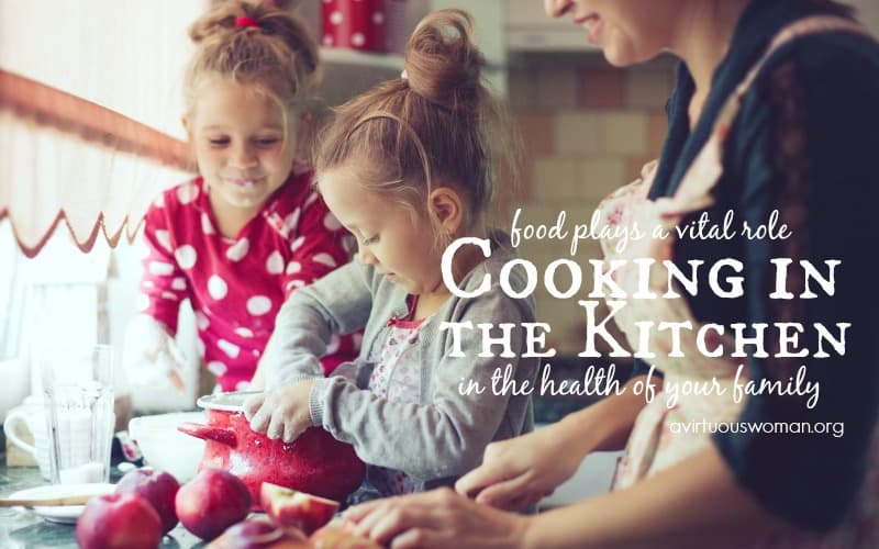 Cooking in the Kitchen {Day 37}