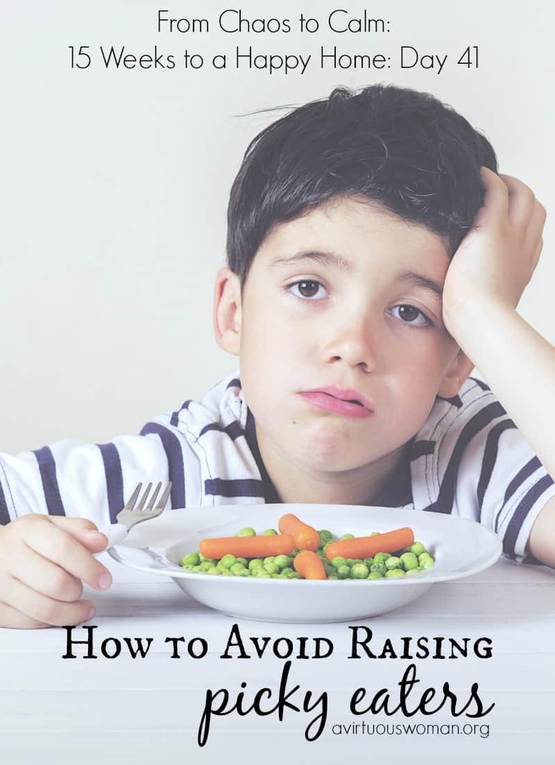 How to Avoid Raising Picky Eaters_800