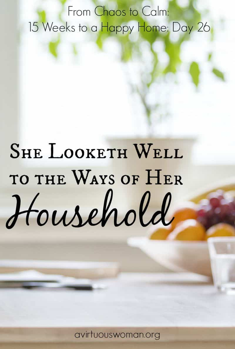 The Ways of Her Household