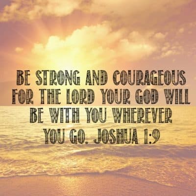 {Rest} Joshua 1:9