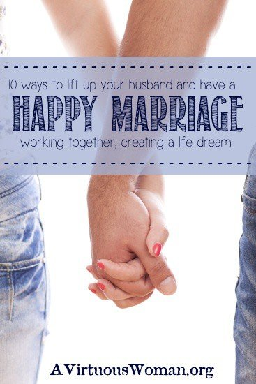 10 Ways to Lift Up Your Husband