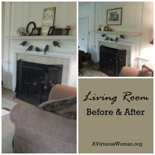 redo living room. Living Room Make Over  Before and After A Virtuous Woman My Redo