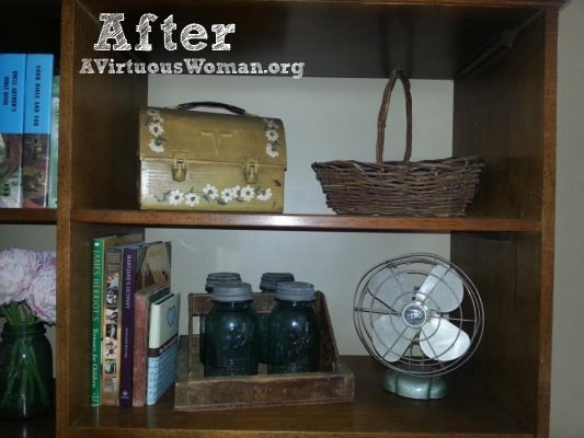 Living Room Make Over {Before and After} | A Virtuous Woman