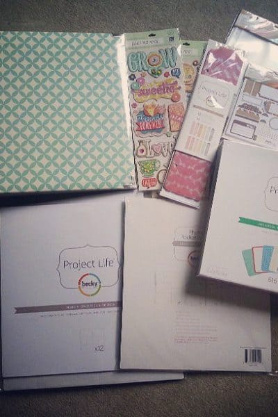 Project Life: Getting Started | A Virtuous Woman #projectlife