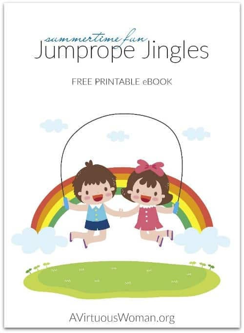 Free Jumprope Jingles e-Book for Summer Fun @ AVirtuousWoman.org