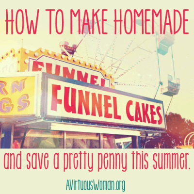 ABC's of Summer Fun {F is for Funnel Cake}