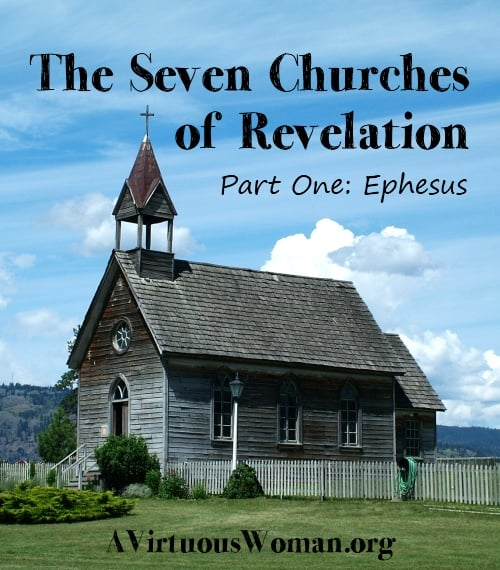 graphic relating to Printable Revelation Bible Study named The 7 Church buildings of Revelation A Virtuous Female